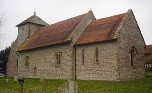 The Church of the Transfiguration in the village of Pyecombe. Church burial records list 15 dead in 25 days of which 13 deaths were from cholera.   It is possible that the disease was carried to the village by seasonally employed, agricultural labourers from Brighton.