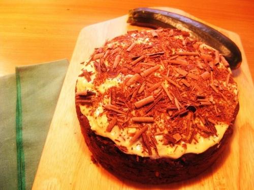CHOCOLATE COURGETTE CAKE recipe