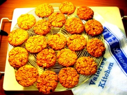 OAT & APRICOT BISCUITS recipe